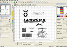 laser marking software, CAD2 software, software for laser marking, laser marking systems, laser marker